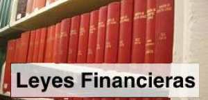 Leyes sector financiero