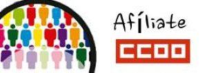 Afiliate  a CCOO