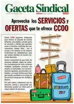 Ofertas servicios afiliación CCOO