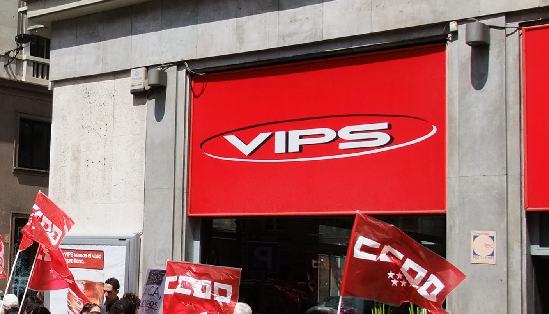 cafetería Restaurante Grupo VIPS Granvia Madrid