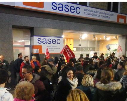 huelga supermercados Asturias