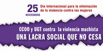 25 Noviembre, contra la violencia machista
