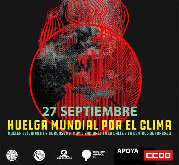 Movilizaciones por el cambio climático. 27 septiembre