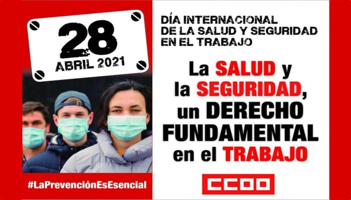 Día Internacional de la Salud y la Seguridad en el Trabajo
