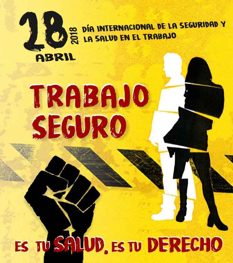 28 abril Dia internacional salud laboral