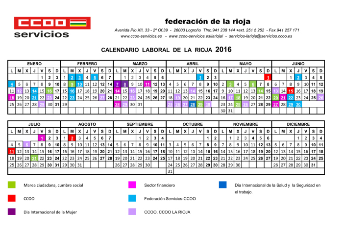 calendario sindical la rioja