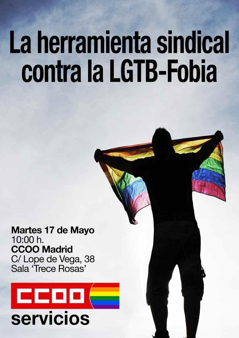 Jrnada CCOO contra LGTBFobia