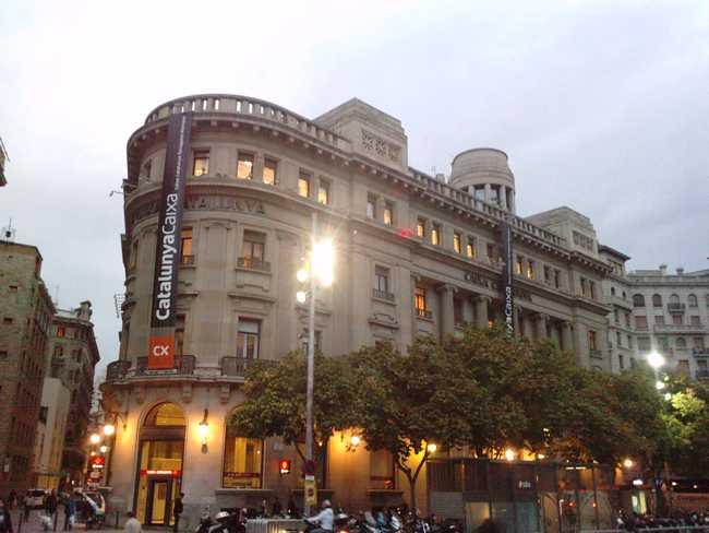 Catalunya Caixa sede central