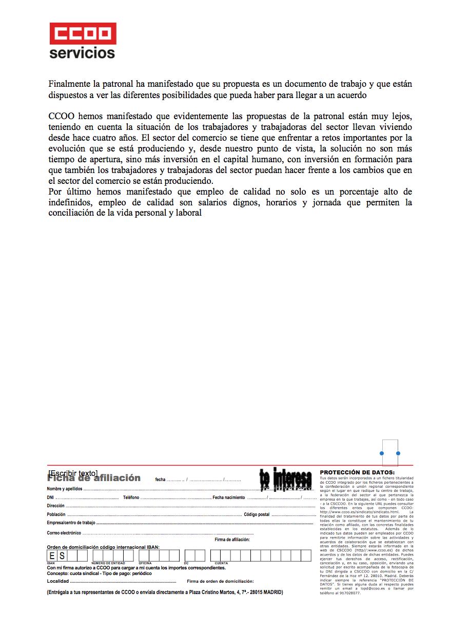 Pagina 2 del segundo comunicado