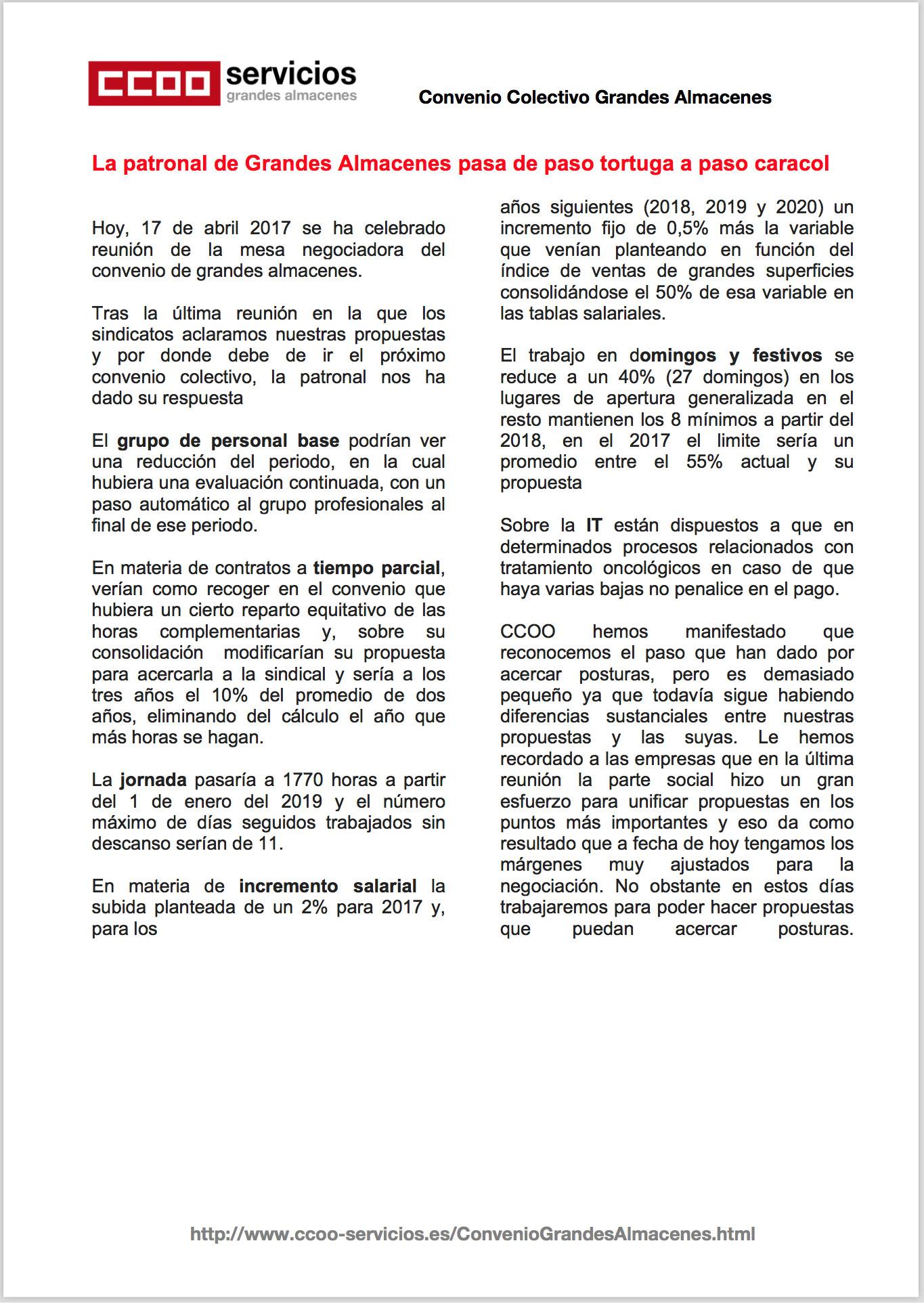 Pagina 1 del sexto comunicado GGAA