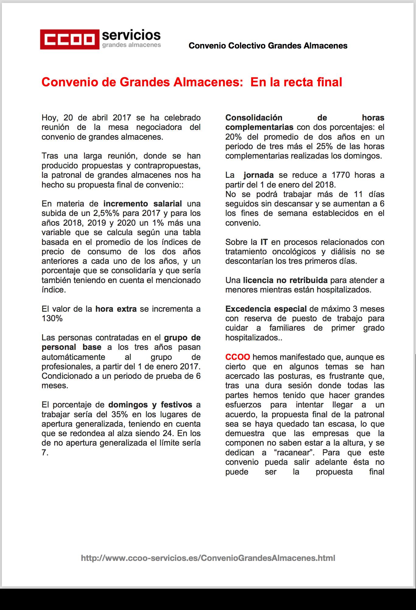 Pagina 1 del septimo comunicado GGAA