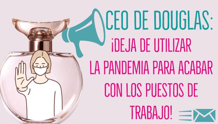 Solidaridad perfumerias Douglas