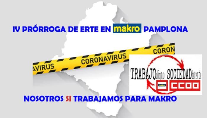 ERTE Makro Navarra y Catalunya