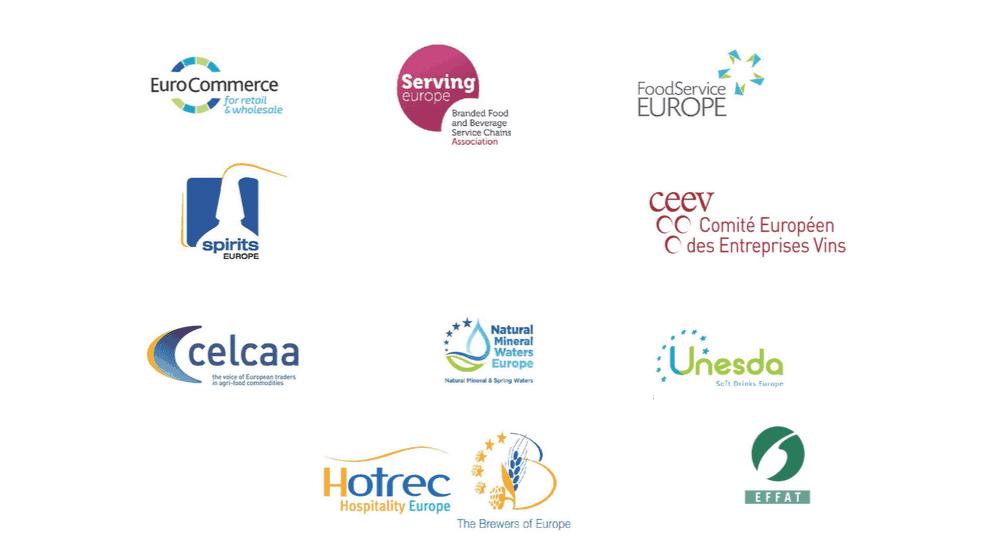 Organizaciones firmantes Declaración Hostelería UE