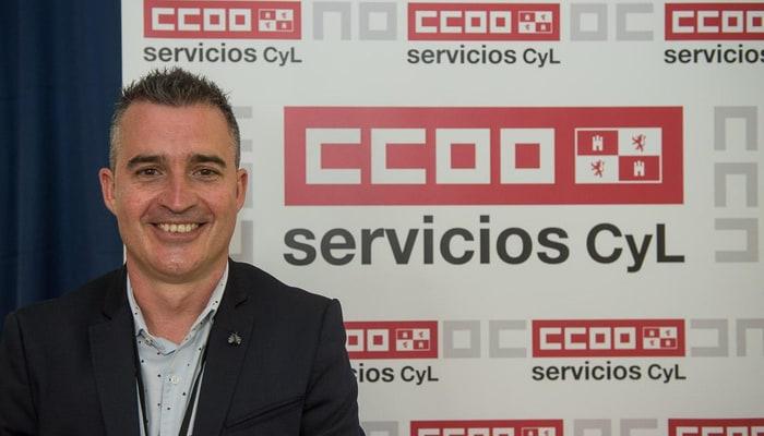 Marcos Gutierres Scretario generlal Federación de Servicios de CCOO Castilla y León