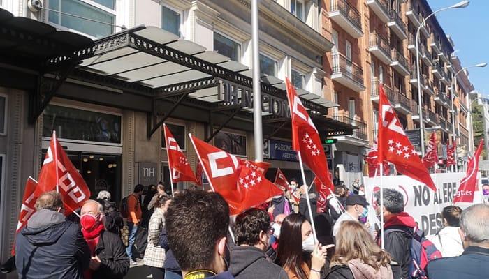 Concetraciones contra despidos en NH Hoteles
