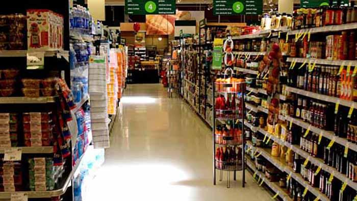 supermercados, alimentación