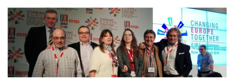 conferencia UNI Europa Roma