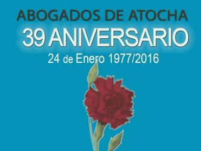 Aniversario asesinato abogados de Atocha
