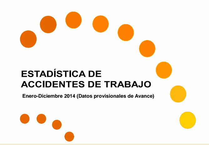Informe accidentes trabajo 2014