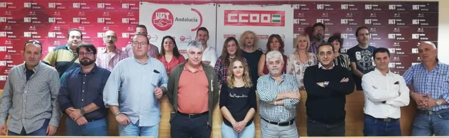 CCOO y UGT Hosteleria en Andalucía