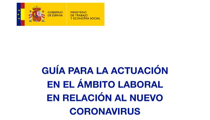 Guia ministerio Coronavirus
