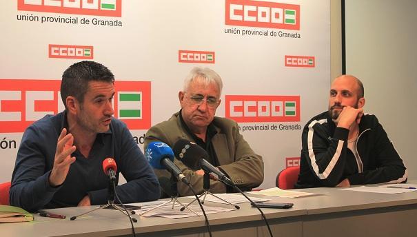 Iñigo vicente CCOO Andalucia