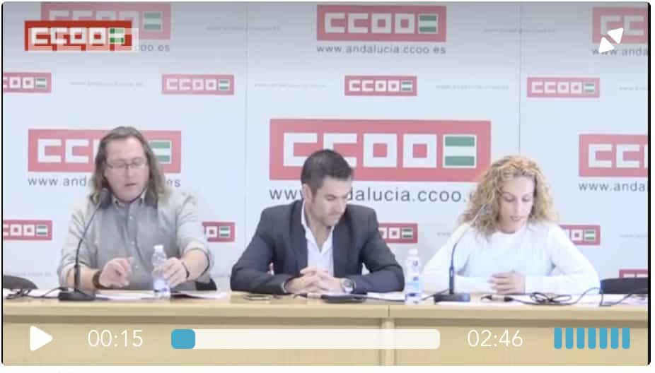 Informe CCOO Andalucia negociacion colectiva