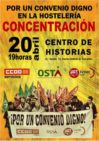 Concentración 20 de abril