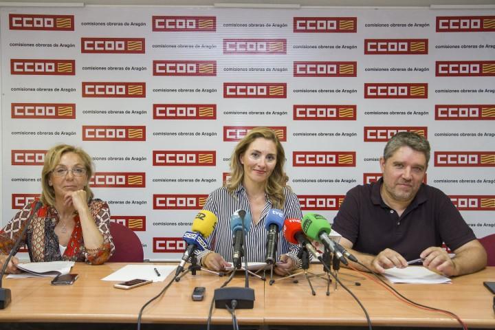Rueda prensa CCOO Aragon
