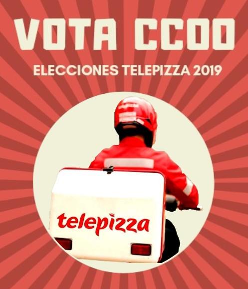 Elecciones Telepizza Zaragoza