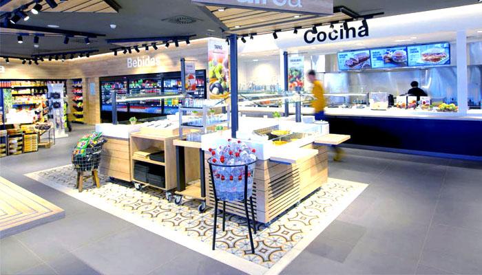 cafeterías aeropuerto