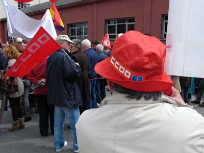 Movilización Primero de Mayo 2014 en Asturias