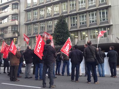 Movilizaciones Tragsa - Tragsatec en Asturias
