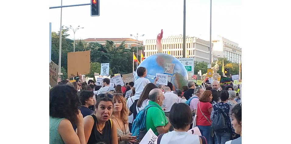 CCOO contra el cambio climático