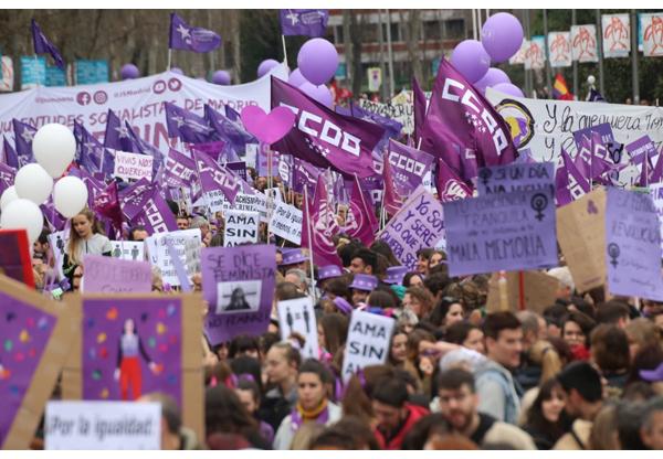 8msiempre manifestación Madrid