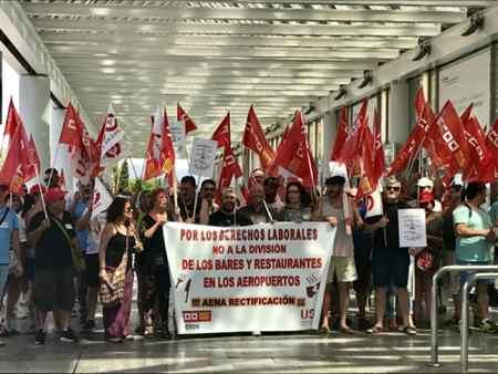 Movilización Aeropuerto Palma
