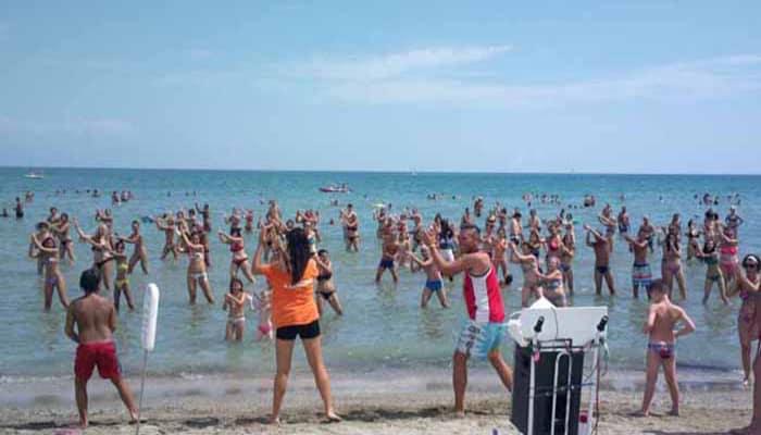 animacion turismo playa