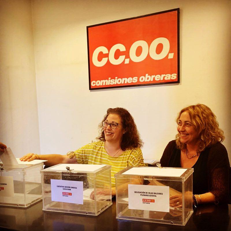 Plenario CCOO Caixabank Palma
