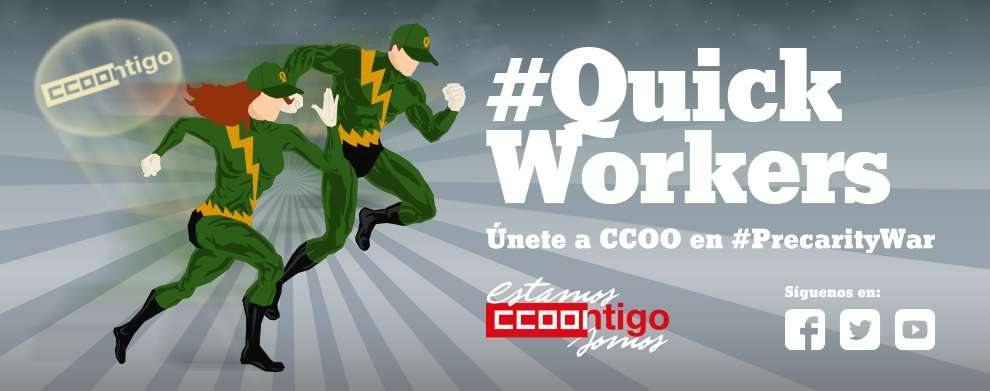 Quick Workers. Precarity War. Precariedad Laboral