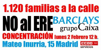 Concentración ERE Barclays