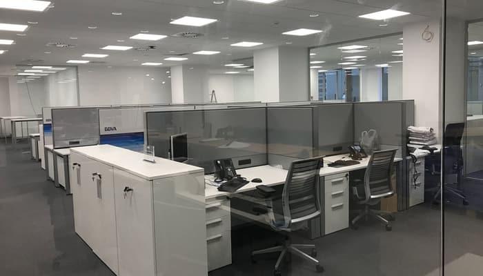 Interior oficina BBVA