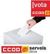 Som la teva veu. Vota CCOO.