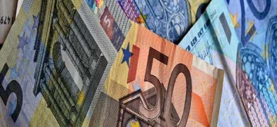 Billetes de Euro. Sector mediación de seguros