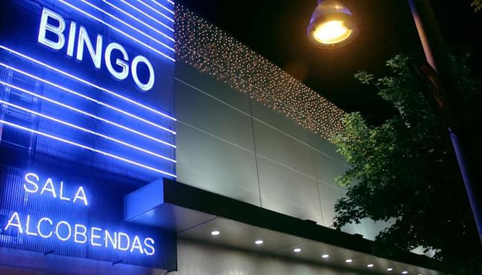 Sala de Bingo en Madrid