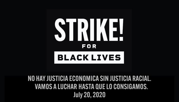 Huelga por la justicia racial en EEUU