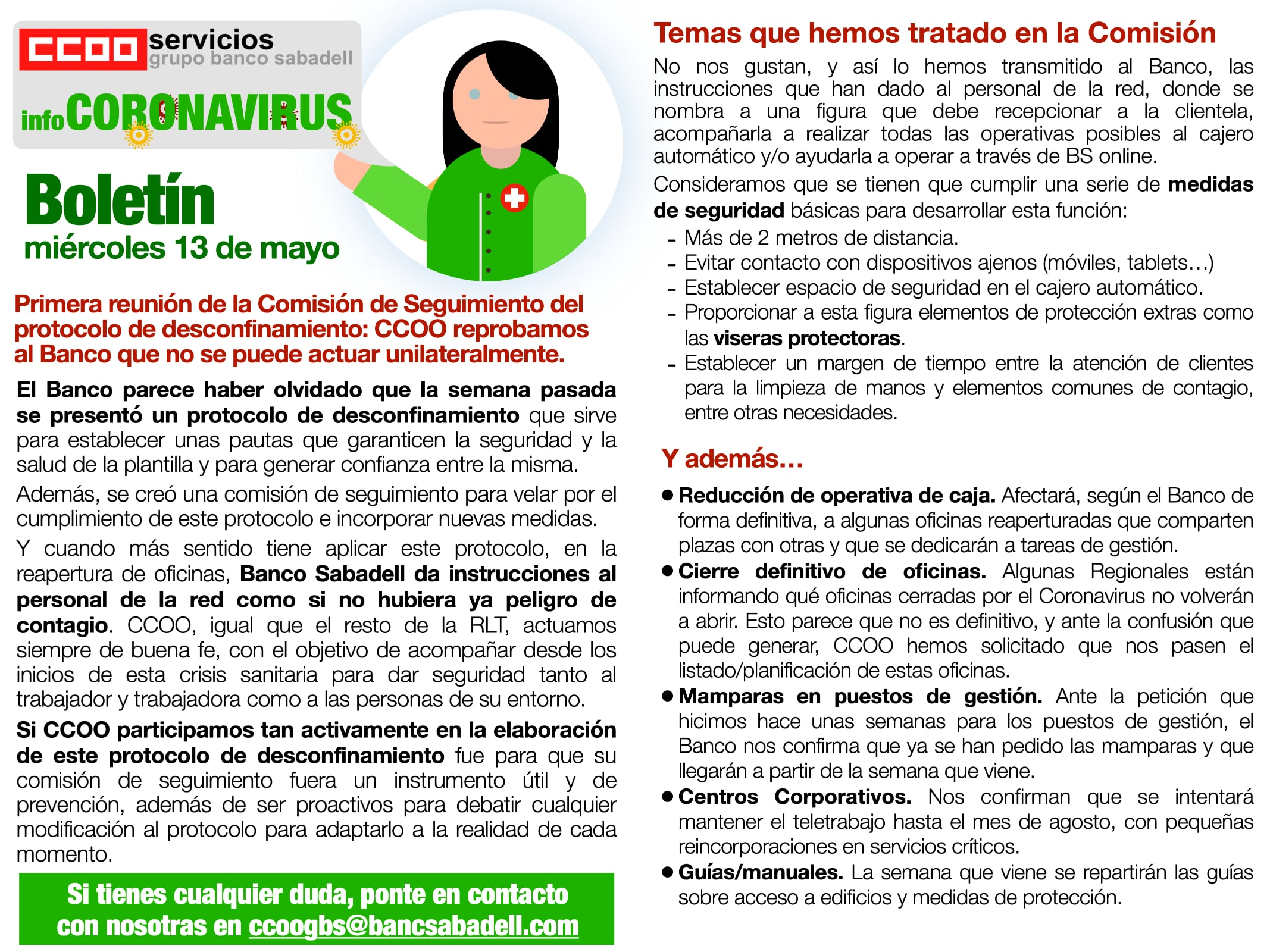 Boletin COVID 19 Banc Sabadell segunda parte