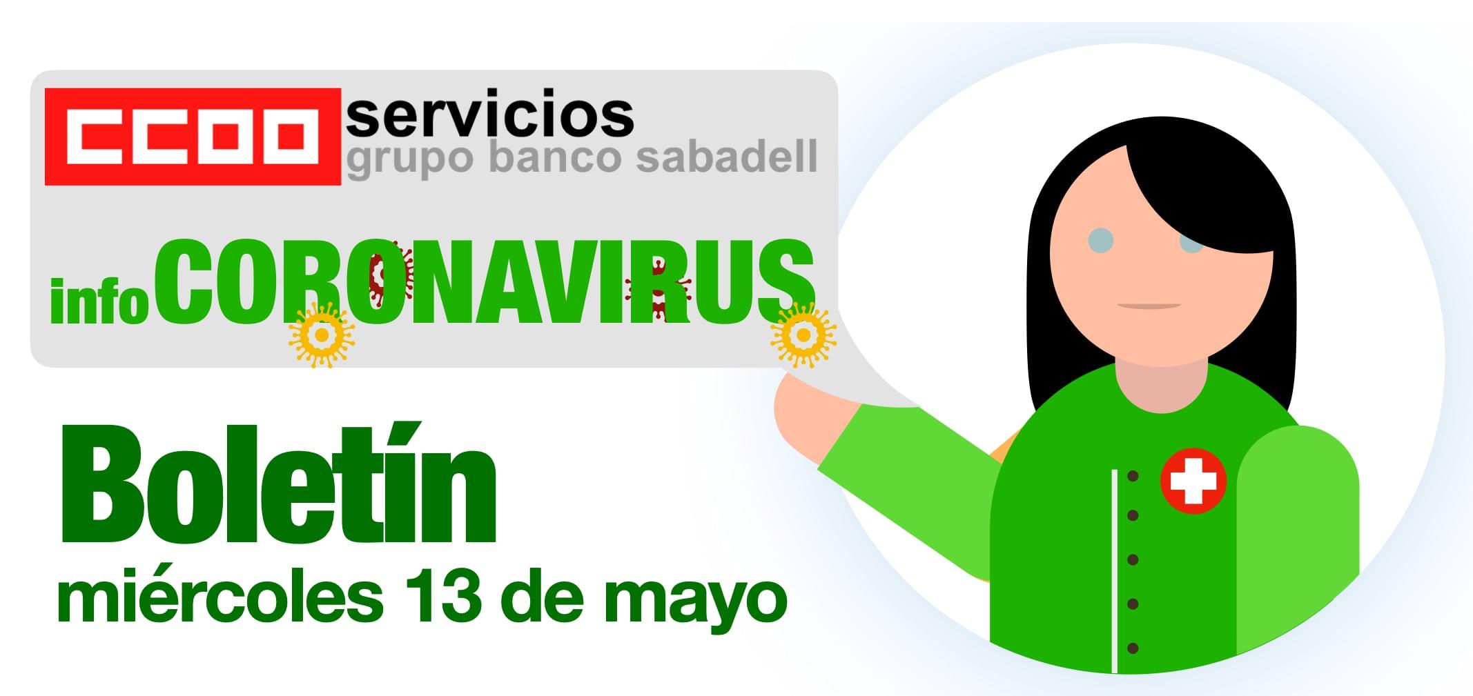 Boletin COVID Banc Sabadell primera parte
