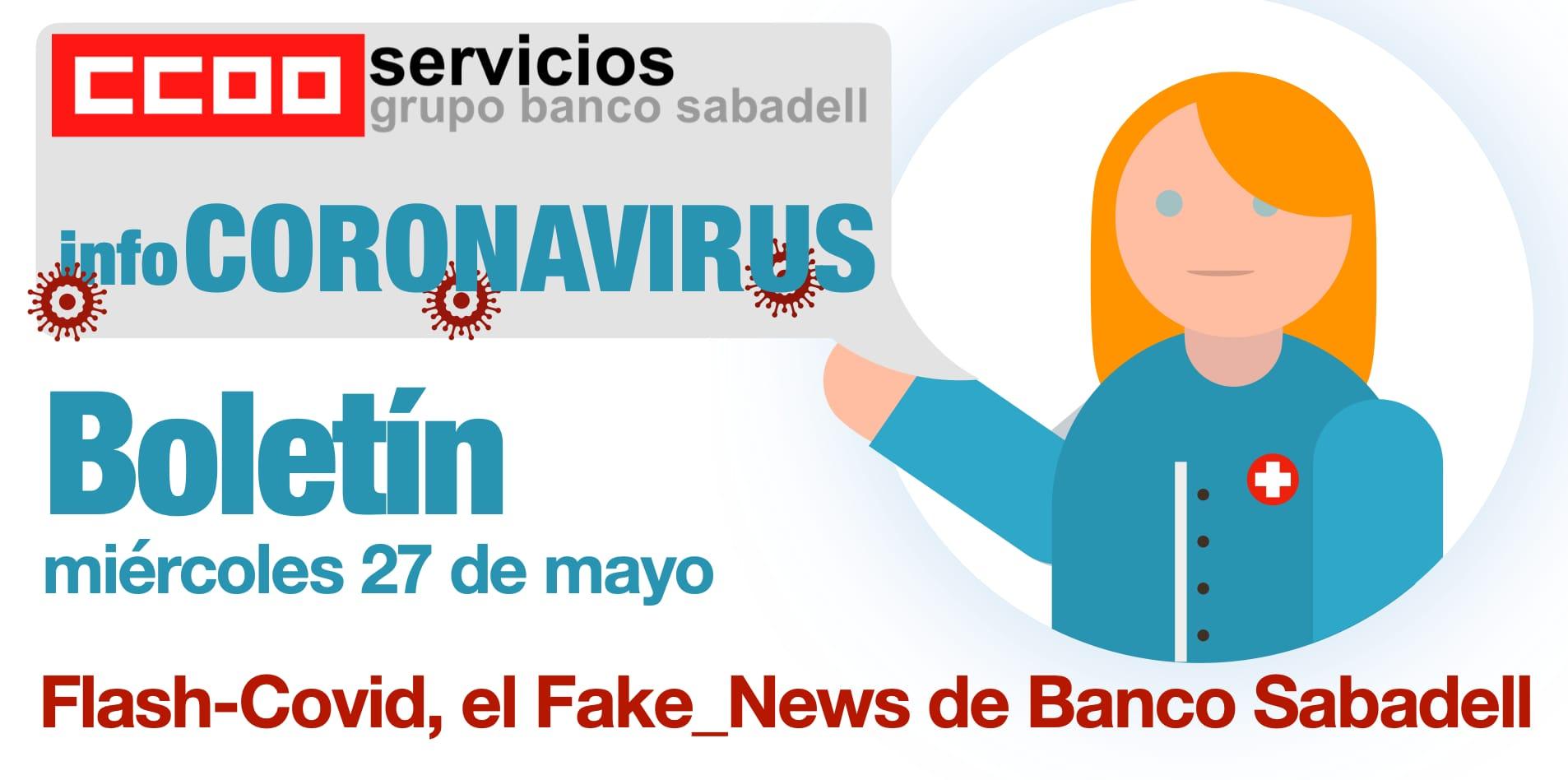 Boletin Coronavirus Banc Sabaell introduccion segunda