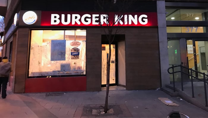 BURGER KING EN MADRID